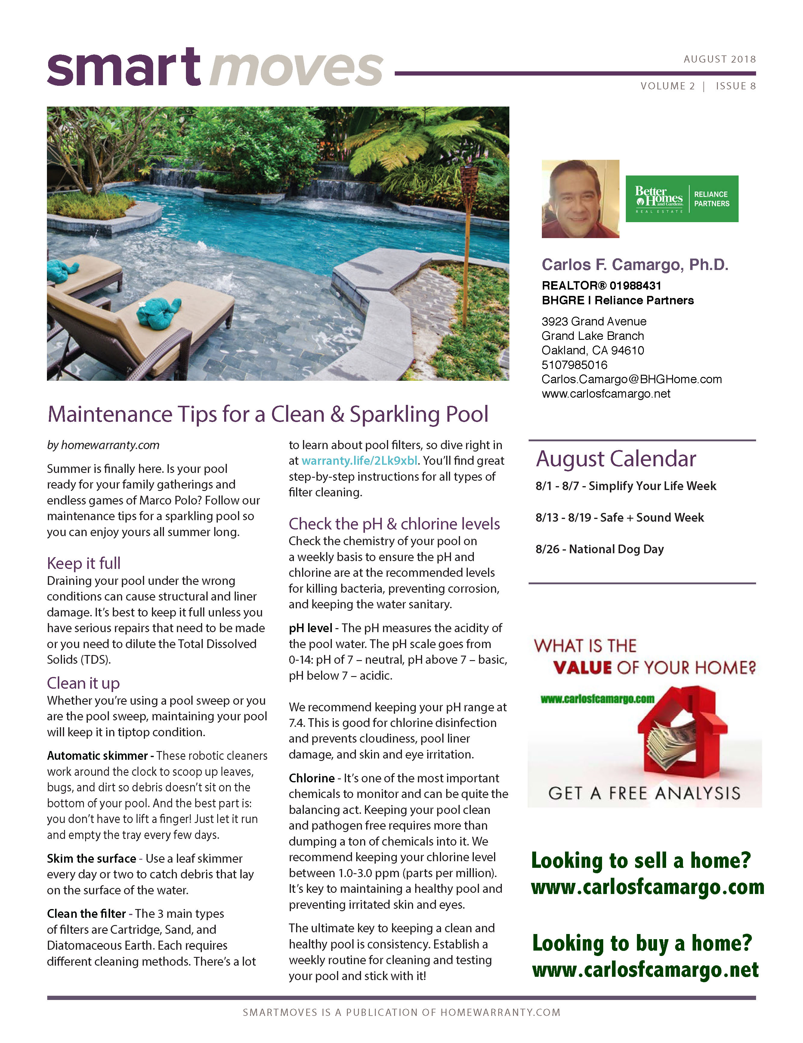 smart moves newsletter july august 2018 noplacelikehome eastbay